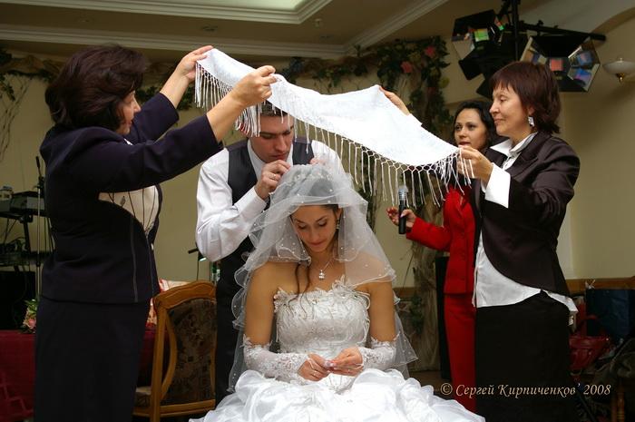 Обряды на свадьбе жених
